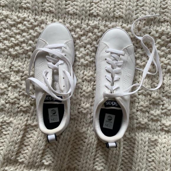 adidas Shoes - Adidas neo white sneaker